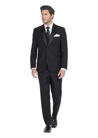 Harrison Black Pure Wool Blend Suit