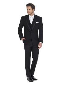 Manhattan Black Hire Suit