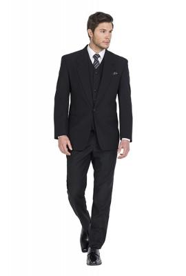 Prince Black Lounge Suit