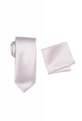 Hire Satin Hank & Tie set Pink