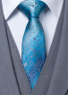 Tie_ZTH025_teal_Close
