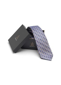 ZTH027 Mens Long Tie and Pocket Square Set Navy