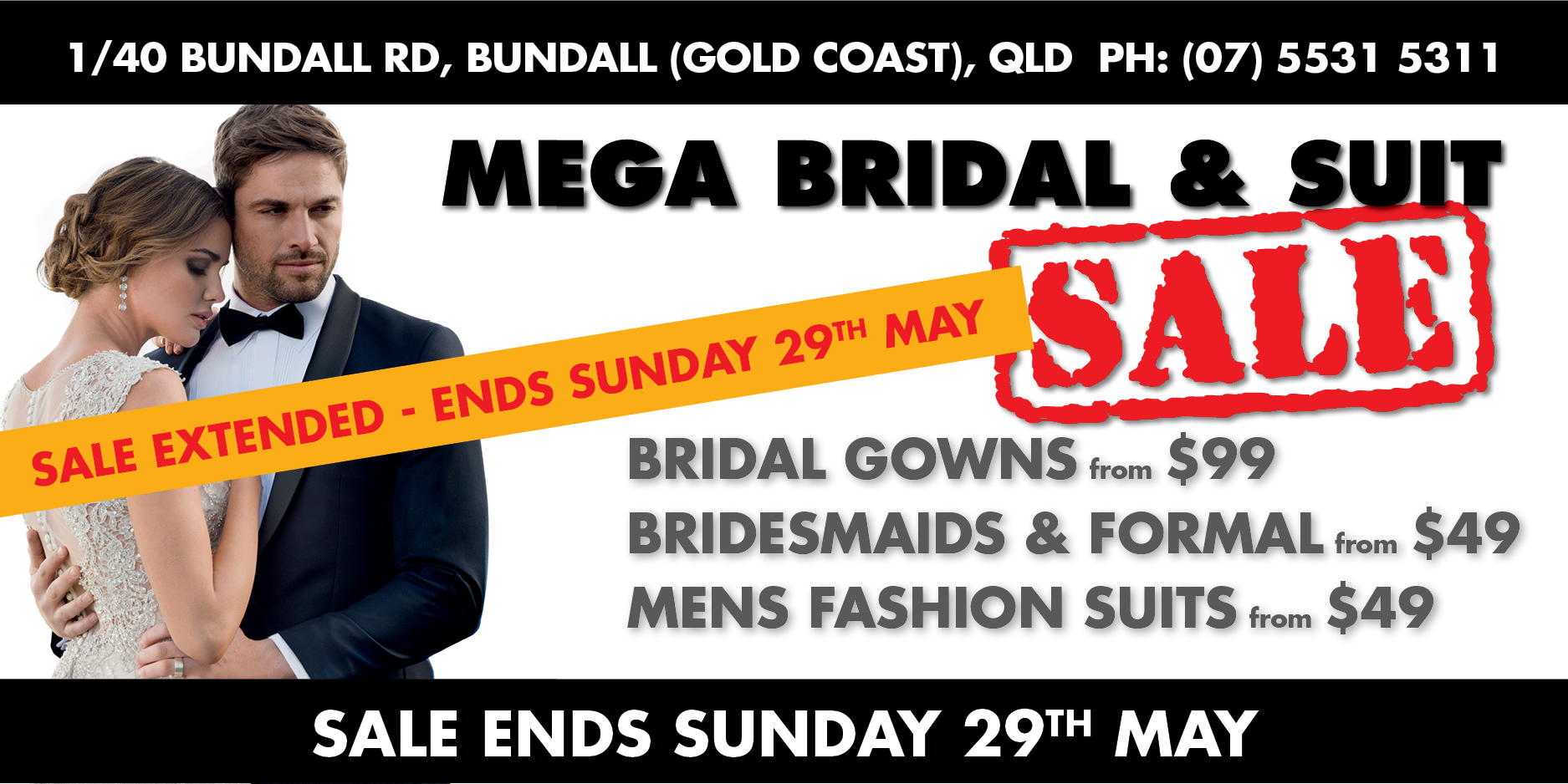 Bundall2016 SALE_Popup_extended