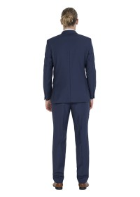 ZJK042 Zenetti Blue Notch Lapel Dinner Jacket
