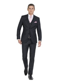 IJK042 Black Formalwear Suit