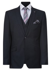 IJK042 Charocal Lounge Suit Jacket