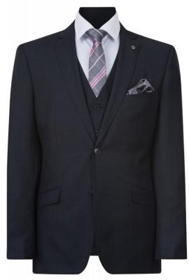 IJK042 Charocal Lounge Suit Jacket