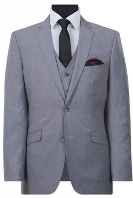 IJK043 Grey Lounge Suit Jacket
