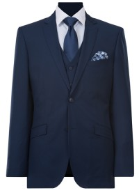 IJK044 Navy Lounge Suit Jacket