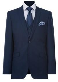 IJK044 Navy Lounge Suit Jacket