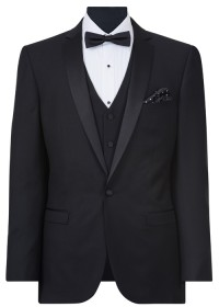 IJK047 Black Dinner Suit Jacket