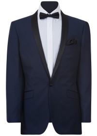 IJK048 Navy Dinner Suit Jacket