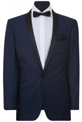 IJK048 Navy Dinner Suit Jacket