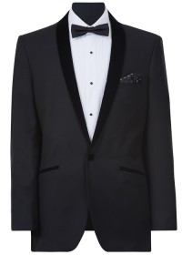 IJK049 Black Dinner Suit Jacket