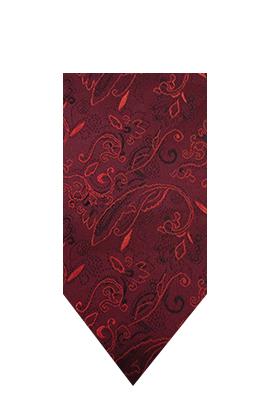 Umbria Hire Tie - Claret