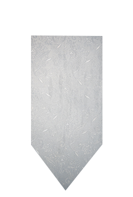 Umbria Hire Tie - White