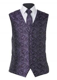 Umbria Hire Vest - Purple