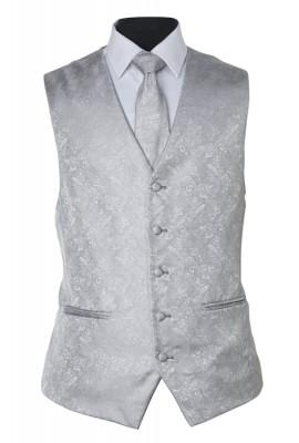 Umbria Hire Vest - Silver